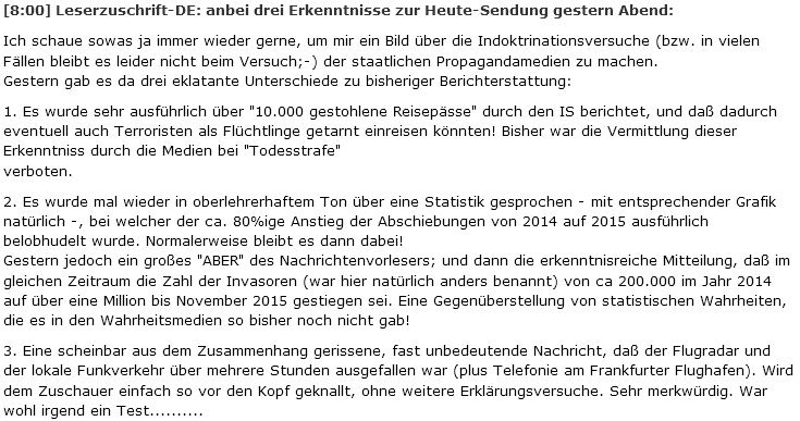 Uberlegen Ein Hartgeld Leser Macht Es Anders (www.hartgeld.com), Von Heute